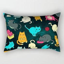 Kitty Space Rectangular Pillow