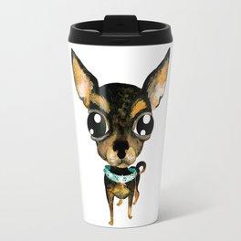 Cute chihuahua dog Travel Mug