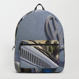 BusLife in Blue Brushstrokes Backpack