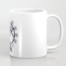 Shiva Nataraj, Lord of Dance (an actual factual fractal) Coffee Mug