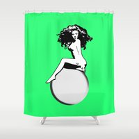 artrave Shower Curtains featuring artRAVE by Greg21