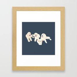 Kylie, tate, connor, and callie Framed Art Print