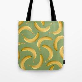 Bananas Pattern - green Tote Bag