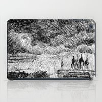 mandala iPad Cases featuring Storm - Ink by Nicolas Jolly