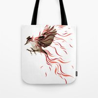 freedom Tote Bags featuring freedom by Steven Toang