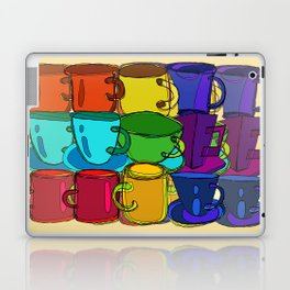 Tea Cups and Coffee Mugs Spectrum Laptop & iPad Skin