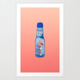 Ramune Art Print