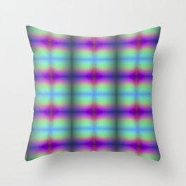 Rainbow Quilt Throw Pillow