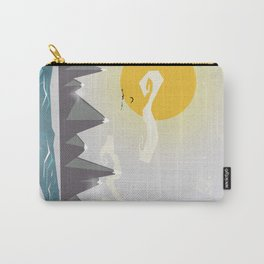 Grey mountains of joy Carry-All Pouch