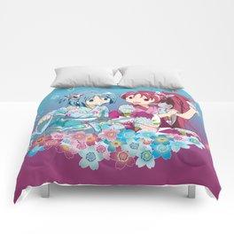 Sayaka Miki & Kyoko Sakura - Love Yukata edit. Comforters