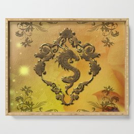 Amazing chinese dragon Serving Tray