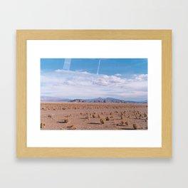 Salinas Grandes Framed Art Print