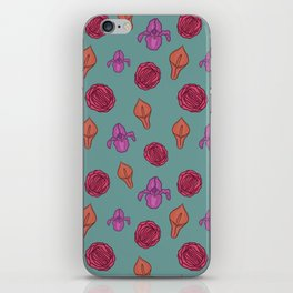 Vagina flowers iPhone Skin