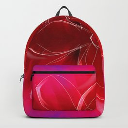 Flower lover - paint abstract Backpack