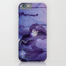 Iris, Blue and Purple Flowers Slim Case iPhone 6s