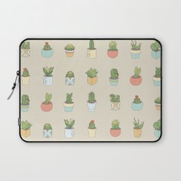 Cute Succulents Laptop Sleeve