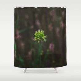 Highline Blooms III Shower Curtain