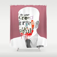 motivation Shower Curtains featuring Mankind Motivation 6 by Marko Köppe
