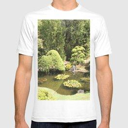 Japanese Tea Garden Pond T-shirt