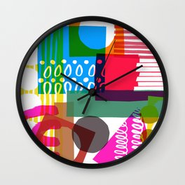 Pattern One Wall Clock