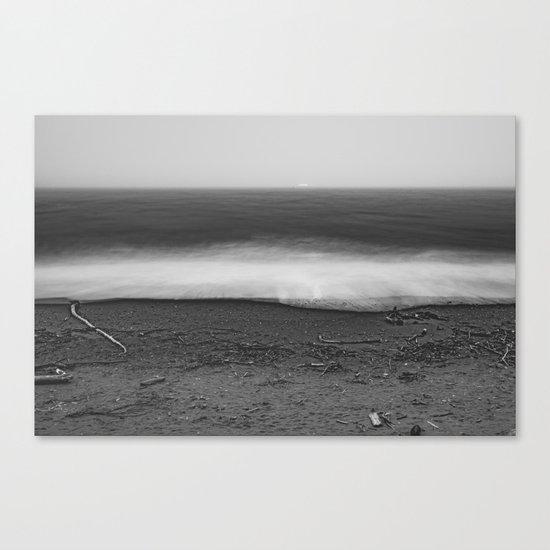 Ocean - 10 Black and White Canvas Print