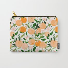 Spring Clementines Carry-All Pouch