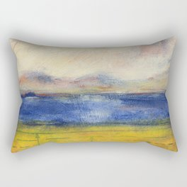 Blue Lake No. 1 Rectangular Pillow
