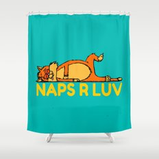 Naps Are Love Shower Curtain