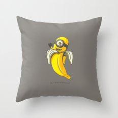Ba-ba-ba-ba-banana Throw Pillow