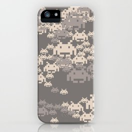 Space Invader Camo iPhone Case