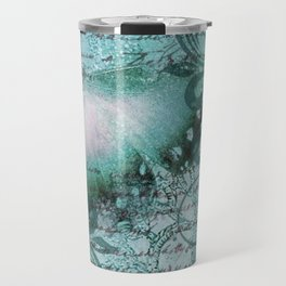 LE PAPILLON | teal Travel Mug
