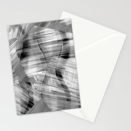 Tartan Cliffs -- grayscale Stationery Cards
