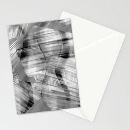 Tartan Cliffs -- grayscale Stationery Cards