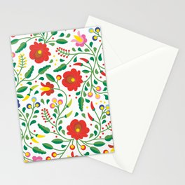 Hungarian Matyo Embroidery Stationery Cards