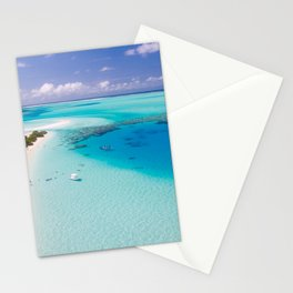 Maldives Tropics Tropical Aerial Stationery Cards
