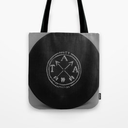 The Amity Affliction on Vinyl  Tote Bag