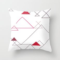 Tree-Angle Throw Pillow