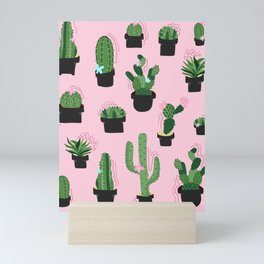 Cute Cacti Mini Art Print
