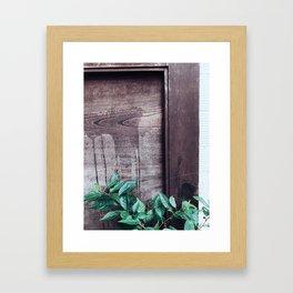 vine Framed Art Print