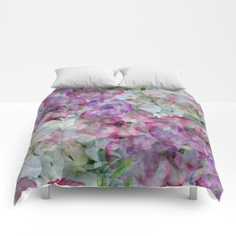 Mesmerizing Floral Abstract Comforters
