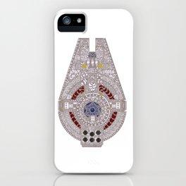 Spaceship Ride iPhone Case