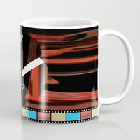 hollywood Mugs featuring Hollywood by AndISky