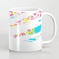 darren criss Mugs featuring Listen Up Darren Criss by Ines92
