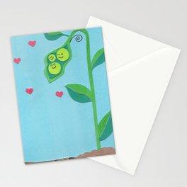 Pea Pod Love Stationery Cards