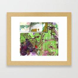 Green Earth Boundary Framed Art Print