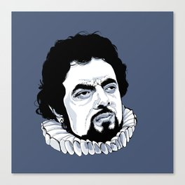 Blackadder Canvas Print