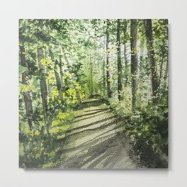 Sunshine in the Forest Metal Print