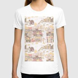 Cashel of the Kings Hand Drawn Art T-shirt
