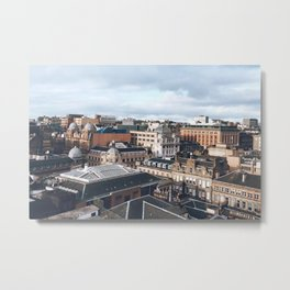 The Rooftops of Glasgow Metal Print