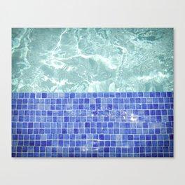 Pool Days Canvas Print